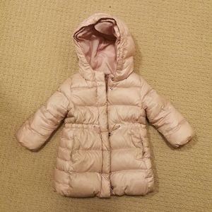 Baby Gap Pink Puffer 2YR